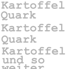 kartoffel-quark