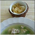 huehnerbruehe-curryreis-erbsen-kimchi