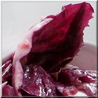 roter salat-ruccola