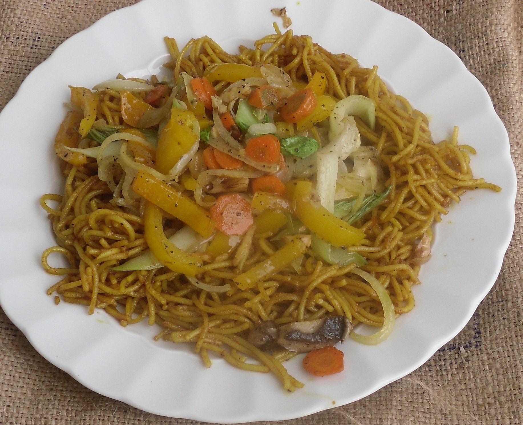 curry-nudelpfanne