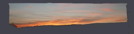 Sonnenuntergang, Wiesbaden, Juni 2015